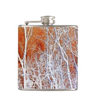 Skeletal Forest II Hip Flasks