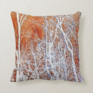 Skeletal Forest II Throw Pillows
