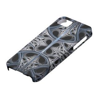 Skeletal Hall fractal art iPhone 5 Case