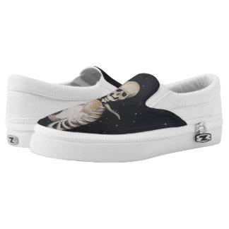 Skeletal Heart of Pluto - Slip-On Sneakers
