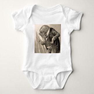Skeletal Penny Saver Baby Bodysuit