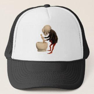 Skeletal Pharmacy Trucker Hat