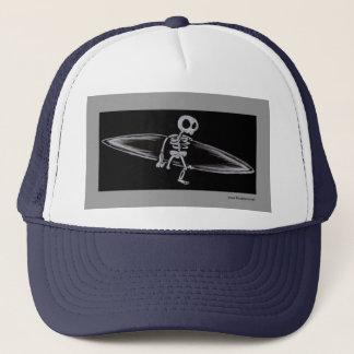 Skeletal Surfer Amputee Cap