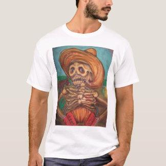 skeleto con accordion y burro T-Shirt