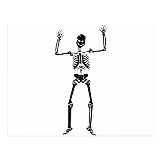 Skeleton #2 postcard