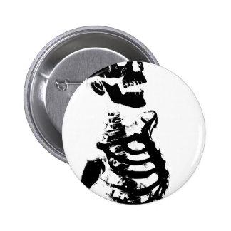 Skeleton #4 2 inch round button