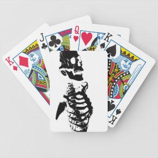 Skeleton #4 bicycle playing cards