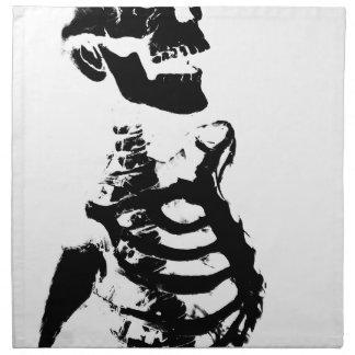 Skeleton #4 napkin