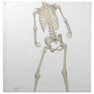 Skeleton #7 napkin