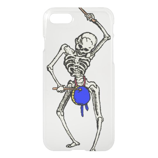 Skeleton and drum iPhone 7 case