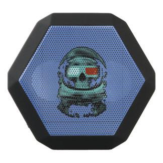 Skeleton atronaut black bluetooth speaker