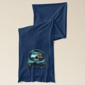 Skeleton atronaut scarf