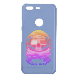 Skeleton atronaut uncommon google pixel case