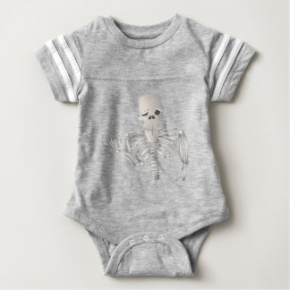 Skeleton Baby Bodysuit