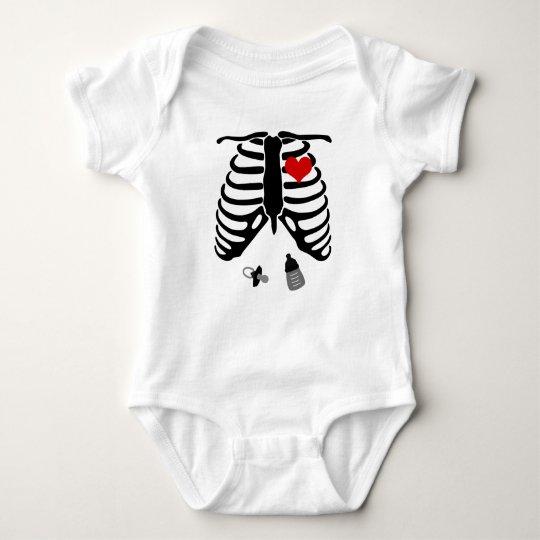 Skeleton Baby Family T Shirt