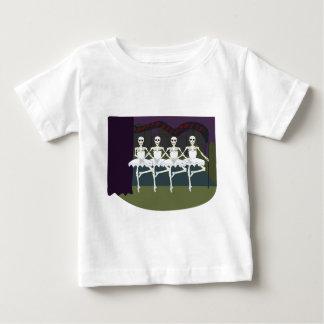 Skeleton Ballerinas Baby T-Shirt