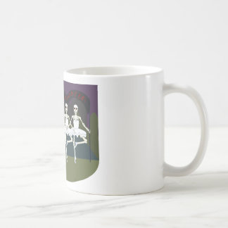 Skeleton Ballerinas Coffee Mug