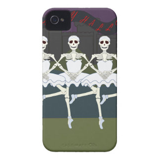 Skeleton Ballerinas iPhone 4 Case-Mate Case