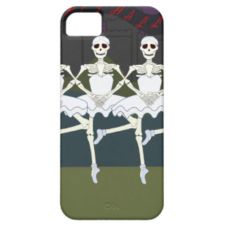 Skeleton Ballerinas iPhone 5 Case