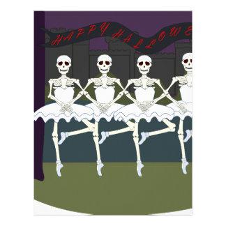 Skeleton Ballerinas Letterhead