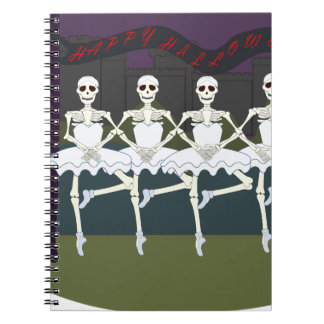 Skeleton Ballerinas Notebooks