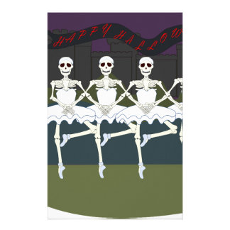 Skeleton Ballerinas Stationery