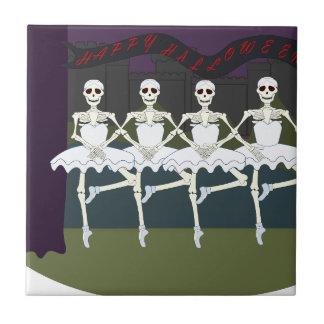 Skeleton Ballerinas Tile