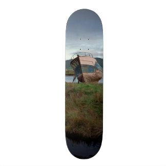 Skeleton Boat Deck Skateboard Deck