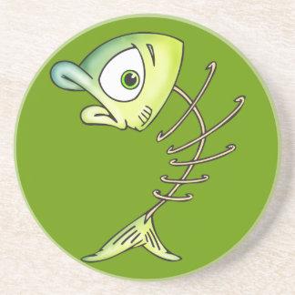Skeleton Bone Fish Coaster