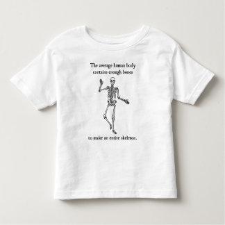 Skeleton Bones in the Average Human Body Toddler T-shirt