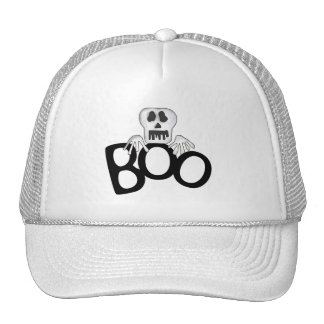 Skeleton Boo Tshirts and Gifts Trucker Hats