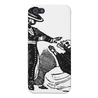Skeleton Couple Fighting c. 1900s Mexico iPhone 5/5S Covers