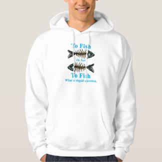 Skeleton Cyan To Fish or Not to Fish Sweatshirt
