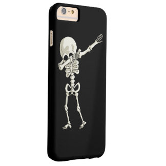 skeleton Dabbing Funny Halloween Dab Dance Barely There iPhone 6 Plus Case