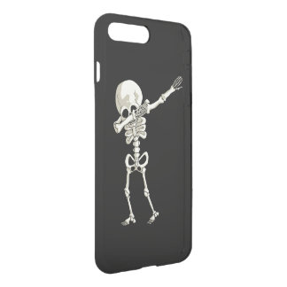 skeleton Dabbing Funny Halloween Dab Dance iPhone 8 Plus/7 Plus Case