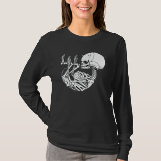 Skeleton Devil Fetus Tshirt