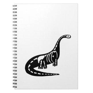 Skeleton Dinosaur Notebooks