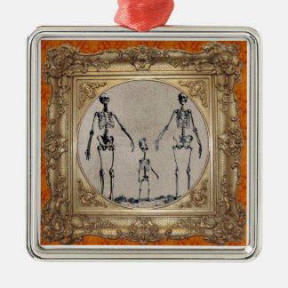 Skeleton Family Ornament