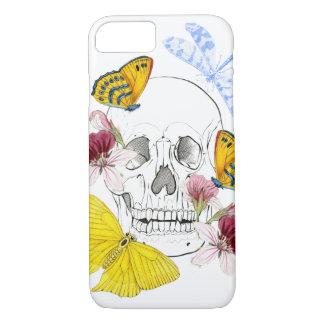 Skeleton Flowers iPhone 8/7 Case