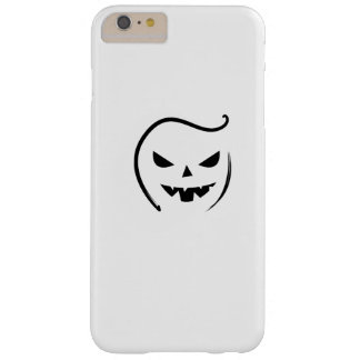 Skeleton Ghost Face Halloween 2017 Funny  Gift Barely There iPhone 6 Plus Case