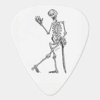 Skeleton Guitar Pick