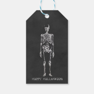 Skeleton Halloween Gift Tags Pack Of Gift Tags