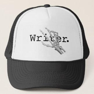 skeleton hand Writer hat