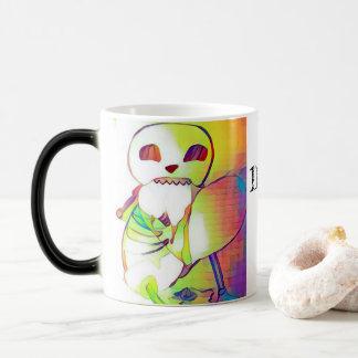Skeleton Heart Nom Num Nom Morphing Coffee Mug