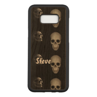 Skeleton In the Closet Personalized Carved Samsung Galaxy S8+ Case