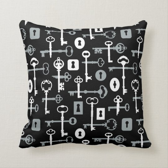 Skeleton Key Pillow