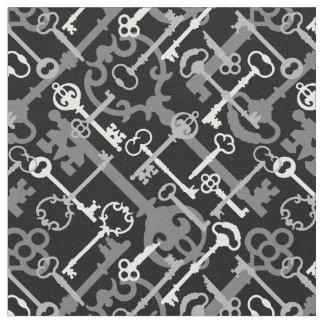 Skeleton Keys Fabric