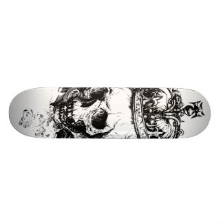 Skeleton King Skateboard Deck