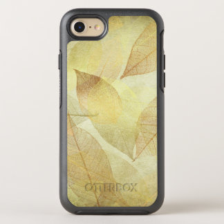 Skeleton Leaves Gold & Bronze OtterBox Symmetry iPhone 8/7 Case