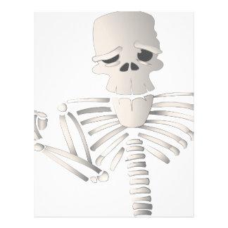 Skeleton Letterhead